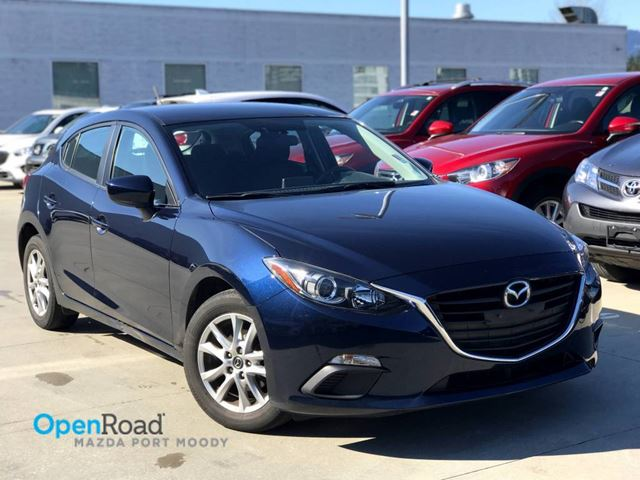2015 MAZDA MAZDA3 GS HB A/T Local Blueooth USB AUX Cruise Control in Port Moody, British Columbia