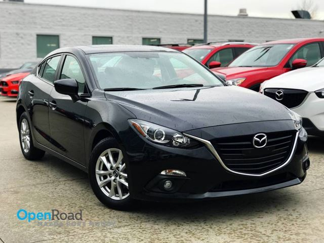 2015 MAZDA MAZDA3 GS Sdn A/T Local One Owner Bluetooth USB AUX Na in Port Moody, British Columbia