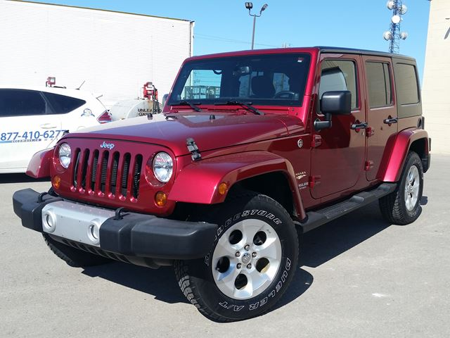 2013 Jeep Wrangler Unlimited Sahara in Fort Erie, Ontario