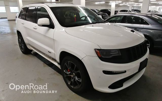2014 JEEP GRAND CHEROKEE 4WD 4dr SRT8 in Vancouver, British Columbia