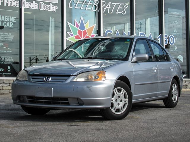 2002 HONDA Civic LX sedan/ AUTO in Toronto, Ontario
