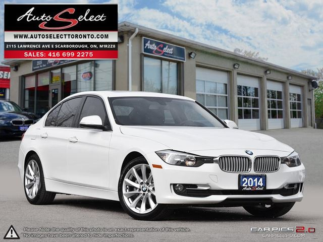 2014 BMW 3 Series xDrive AWD ONLY 94K! **NAVIGATION PKG** CLEAN CARPROOF in Scarborough, Ontario