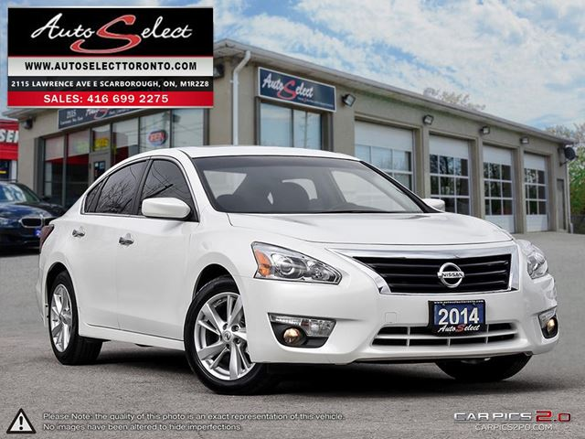 2014 NISSAN ALTIMA ONLY 94K! **SV MODEL**BACK-UP CAMERA**SUNROOF** in Scarborough, Ontario