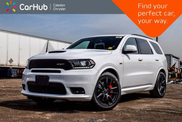 2018 DODGE Durango New Car SRT AWD 6.4L 6 Seater Navi Sunroof Bluetooth R-Start Backup Cam 20Alloy in Bolton, Ontario