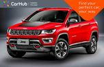 2018 Jeep Compass New Car Trailhawk 4x4 Pano Sunroof Backup Cam Bluetooth R-Start 17Alloy in Bolton, Ontario