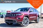 2018 Jeep Grand Cherokee New Car Limited 4x4 Navi Backup Cam Bluetooth Leather R-Start Blind Spot 20Alloy in Bolton, Ontario