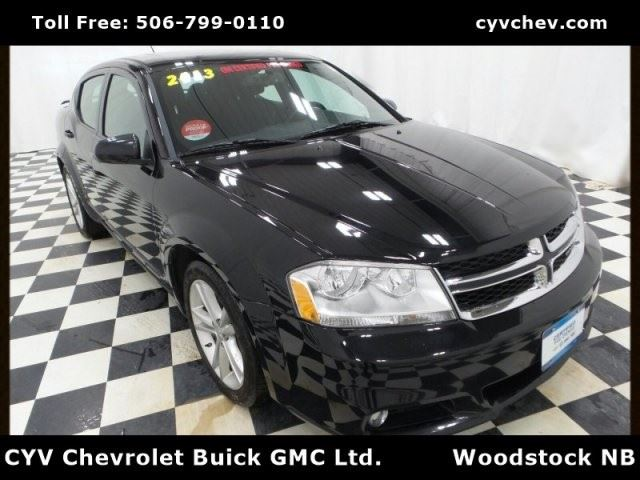 2013 Dodge Avenger SXT in Woodstock, New Brunswick