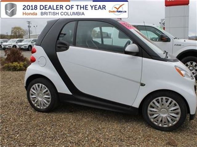 2013 SMART FORTWO pure 2dr Coupe in Vernon, British Columbia