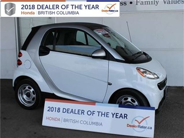 2013 SMART FORTWO passion 2dr Coupe in Vernon, British Columbia