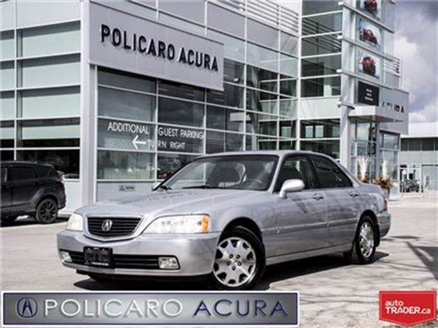 2003 ACURA RL 4AT FWD, One Owner. in Brampton, Ontario