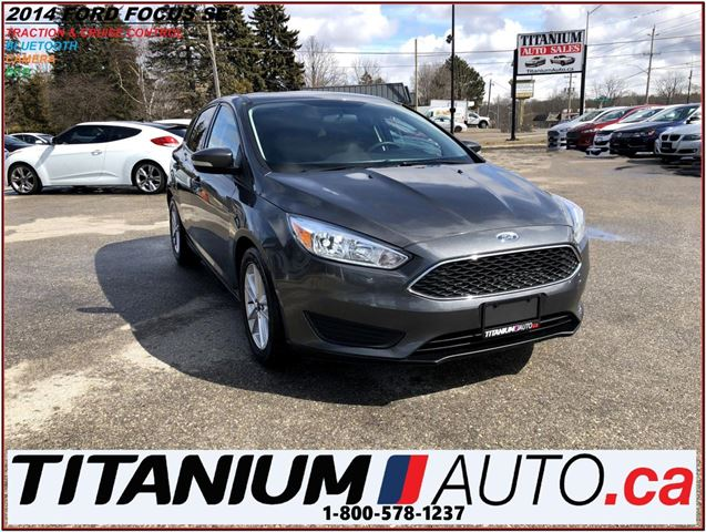 2015 FORD FOCUS SE Hatchback+Camera+BlueTooth+Traction & Cruise+++ in London, Ontario