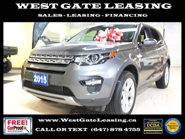 2015 LAND ROVER DISCOVERY HSE  NAVIGATION  AWD   in Vaughan, Ontario