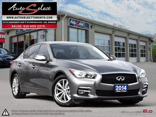 2014 INFINITI Q50 AWD ONLY 46K! **TECHNOLOGY PKG** CLEAN CARPROOF in Scarborough, Ontario