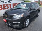 2017 Chevrolet Traverse LS ALL WHEEL DRIVE, 7 PASSENGER, BLUETOOTH in Oshawa, Ontario