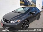 2013 Honda Civic EX $114 BI-WEEKLY in Cranbrook, British Columbia