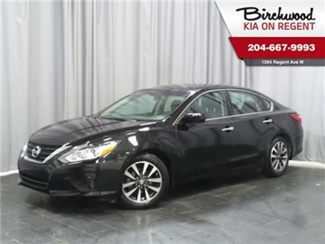 2017 NISSAN ALTIMA 2.5 SV ** Just landed and ready to take home! in Winnipeg, Manitoba