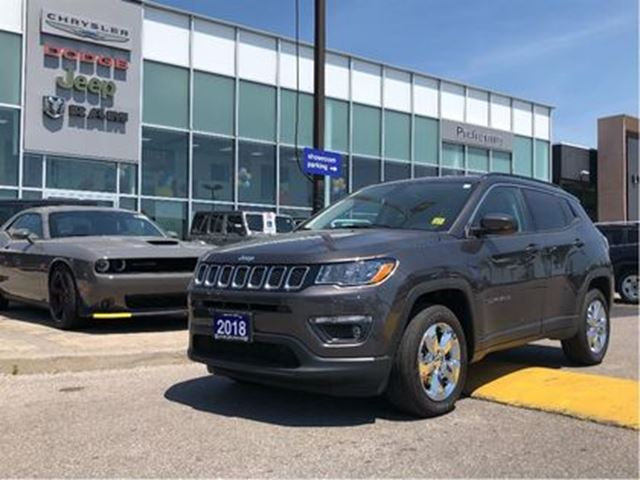 2018 JEEP COMPASS North 4X4 BLUETOOTH FOG LAMPS ALLOY WHEELS in Pickering, Ontario