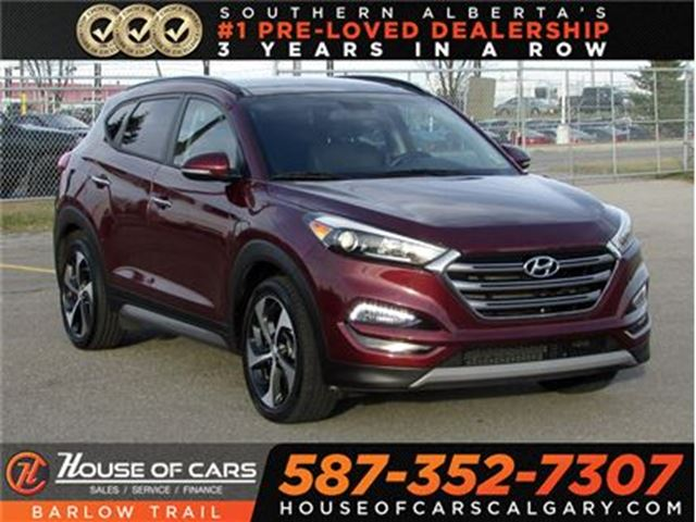 2017 HYUNDAI TUCSON SE 1.6 / Back Up Camera / Leather / Sunroof in Calgary, Alberta