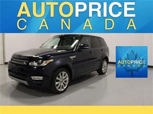 2014 LAND ROVER RANGE ROVER Sport V8 Supercharged NAVIGATION in Mississauga, Ontario