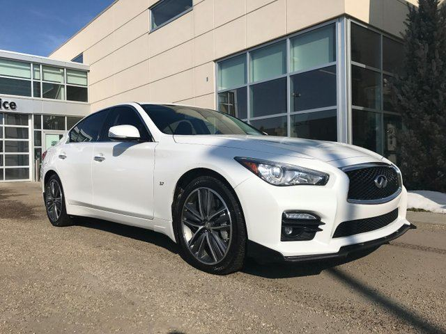 2015 INFINITI Q50 Sport 4dr All-wheel Drive Sedan in Edmonton, Alberta