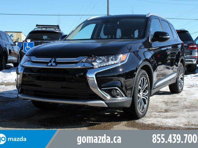 2016 MITSUBISHI OUTLANDER GT AWC 7 PASS LEATHER 1 OWNER ACCIDENT FREE in Edmonton, Alberta