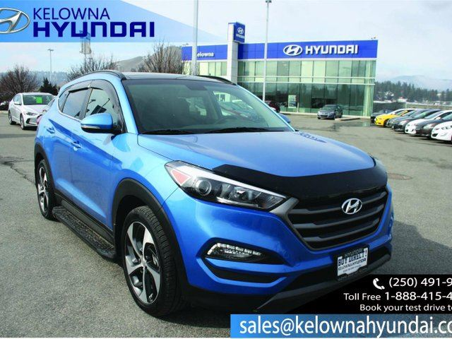 2016 HYUNDAI TUCSON Limited 4dr All-wheel Drive in Kelowna, British Columbia