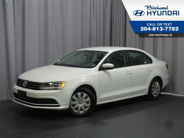 2016 VOLKSWAGEN JETTA Trendline Rear Cam *Heated Seats in Winnipeg, Manitoba