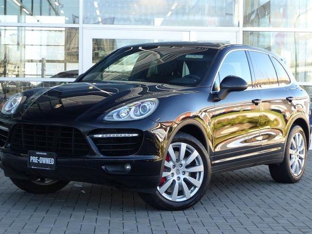 2011 PORSCHE CAYENNE Turbo w/ Tip in Vancouver, British Columbia