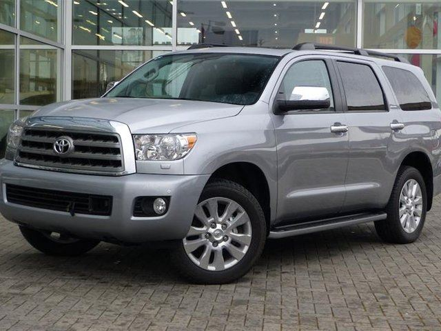 2017 TOYOTA Sequoia Platinum 5.7L 6A in Vancouver, British Columbia