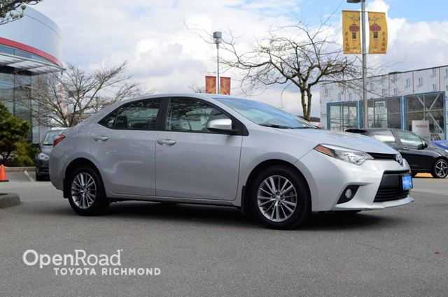 2014 TOYOTA COROLLA LE in Richmond, British Columbia