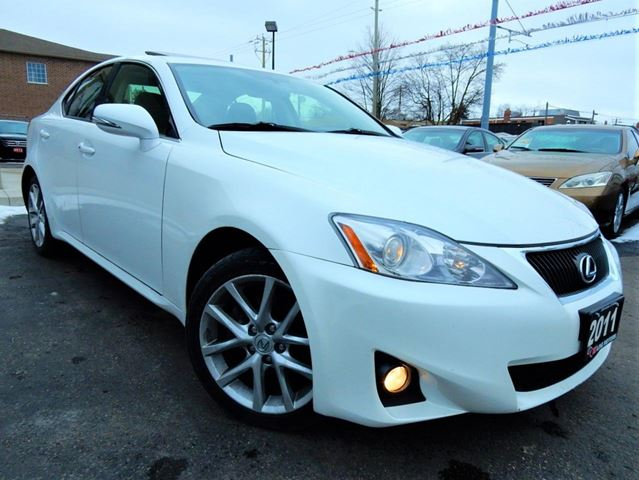 2011 LEXUS IS 250 AWD  LEATHER.ROOF  PUSH START  LOW KM in Kitchener, Ontario
