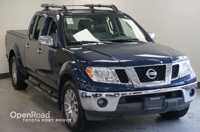 2011 NISSAN FRONTIER SL  NO ACCIDENTS in Port Moody, British Columbia