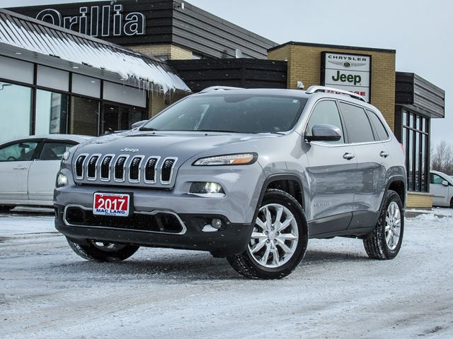 2017 JEEP CHEROKEE Limited in Orillia, Ontario