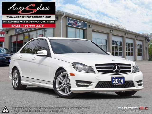 2014 MERCEDES-BENZ C-CLASS 4Matic C300 AWD ONLY 38K! **TECHNOLOGY PKG** CLN CARPROOF in Scarborough, Ontario