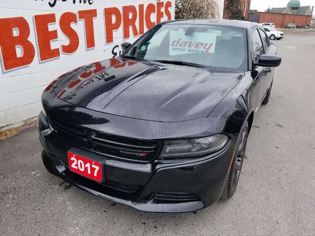 2017 DODGE CHARGER R/T 5.7 HEMI, NAVIGATION, BLIND SPOT DETECTION in Oshawa, Ontario