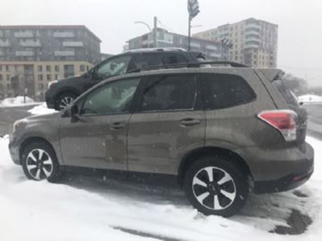 2018 SUBARU FORESTER TOURING WITH EYESIGHT in Mississauga, Ontario
