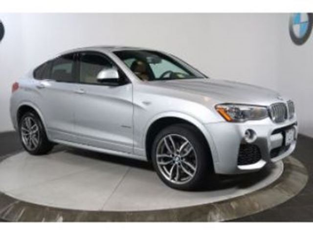 2018 BMW X4 xDrive28i M Sport w/ Premium Package Essential in Mississauga, Ontario