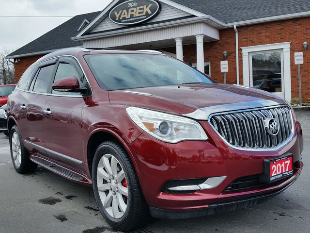 2017 BUICK ENCLAVE Premium AWD, Leather Heated Seats, DVD, Sunroof in Paris, Ontario