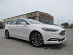 2017 Ford Fusion SE AWD, NAV, ROOF, TAN LEATHER, 28K! in Stittsville, Ontario