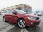 2015 Volkswagen Jetta TDI HIGHLINE, LEATHER, ROOF, BT, 52K! in Stittsville, Ontario