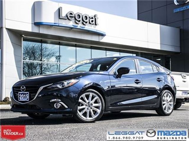 2015 MAZDA MAZDA3 GT in Burlington, Ontario
