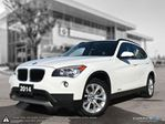2014 BMW X1 xDrive28i Local One Owner! in Winnipeg, Manitoba