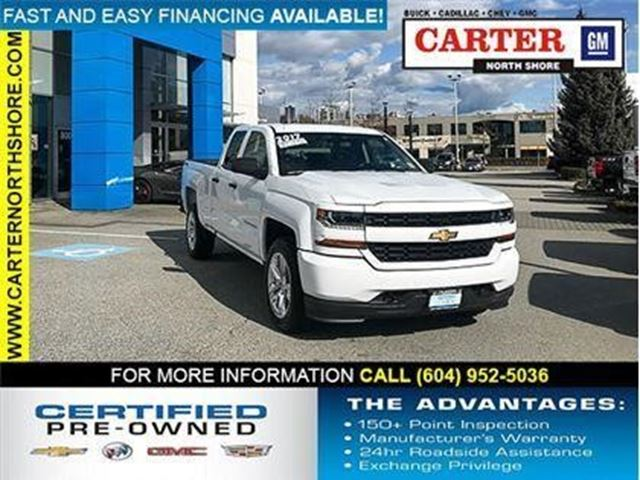 2017 CHEVROLET SILVERADO 1500 Custom in North Vancouver, British Columbia