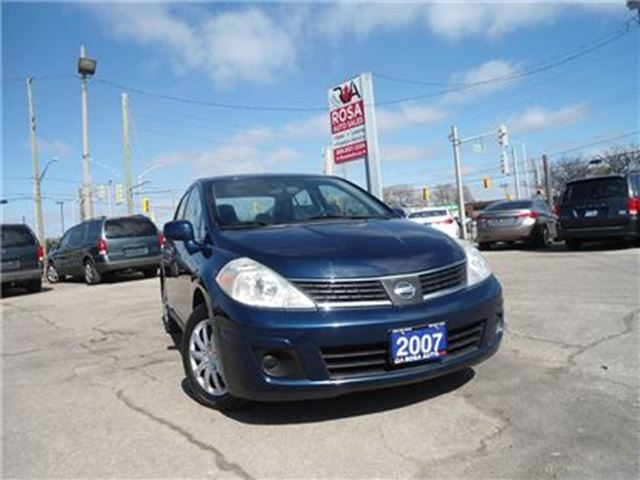 2007 NISSAN VERSA AUTO NO ACCIDENT NO RUST PL PW PM A/C in Oakville, Ontario