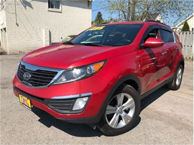 2011 KIA SPORTAGE EX AWD MAGS BACK UP CAMERA in St Catharines, Ontario