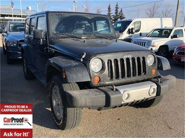 2011 JEEP WRANGLER Unlimited SAHARA**BLUETOOTH**REMOTE START** in Mississauga, Ontario