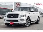 2017 Infiniti QX80 LIMITED,HEATED SEATS,REAR COLOUR TV,NAV,SUNROOF in Georgetown, Ontario