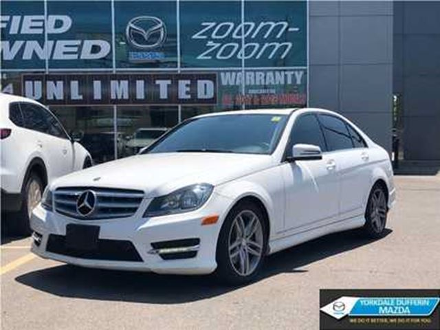2013 MERCEDES-BENZ C-Class 300 / 4MATIC / LEATHER / SUNROOF!!! in Toronto, Ontario