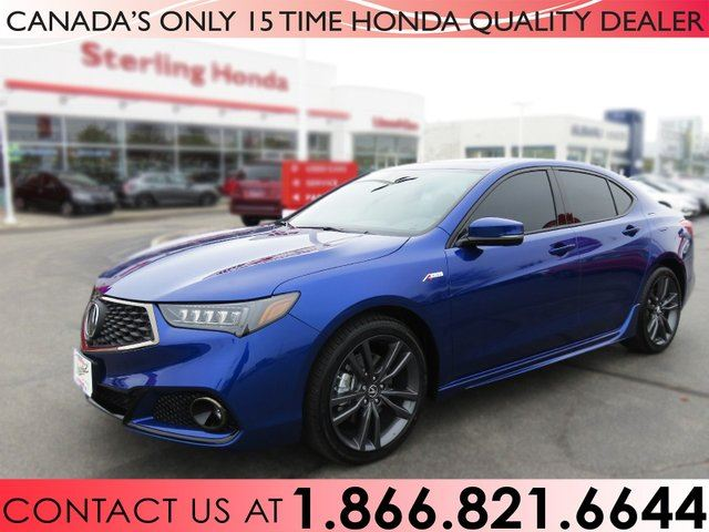 2018 Acura TLX ELITE A-SPEC | SH-AWD | TINT | LOW KM'S | NO ACCIDENTS | 1 OWNER in Hamilton, Ontario