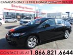 2014 Honda Civic LX | 1 OWNER | NO ACCIDENTS | LOW KM'S in Hamilton, Ontario